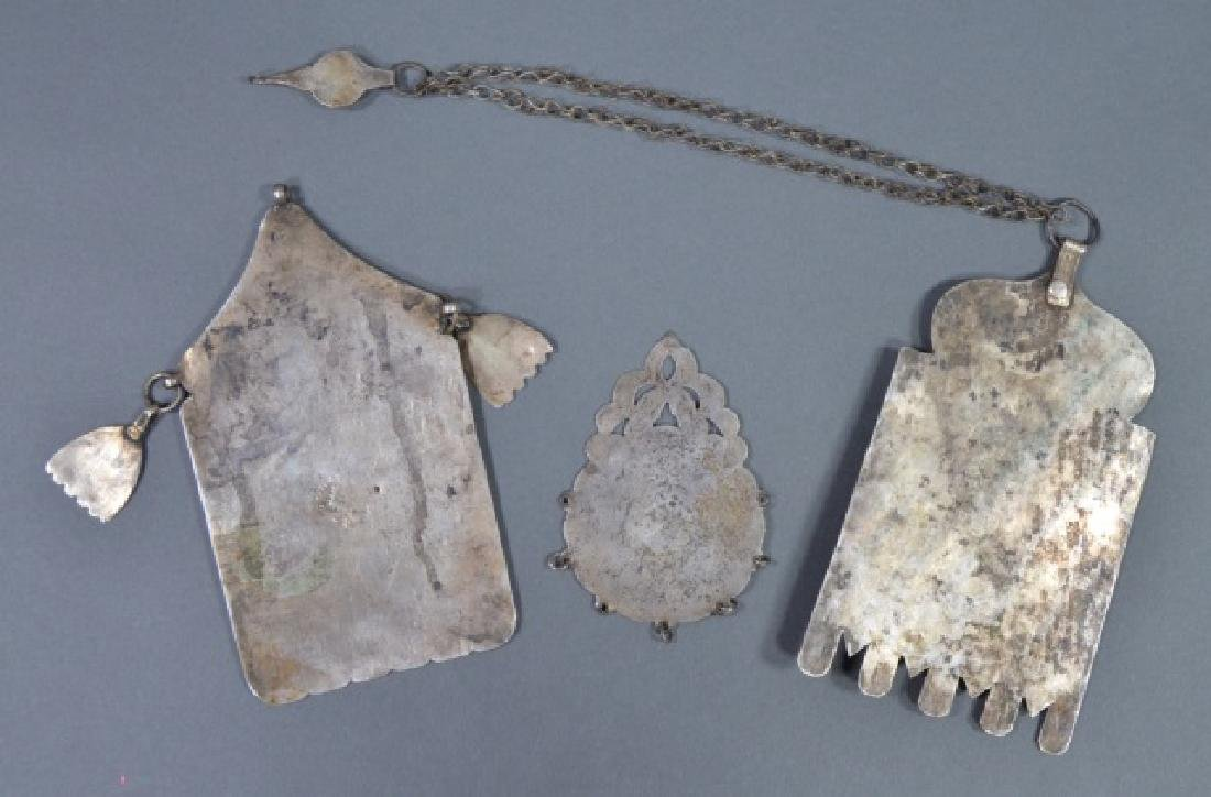Three North African Silver Pendants - 2
