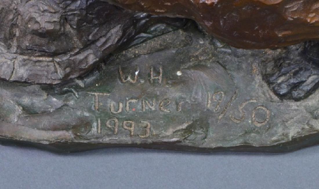 """Fox & Terrapin"" Bronze Sculpture - 3"