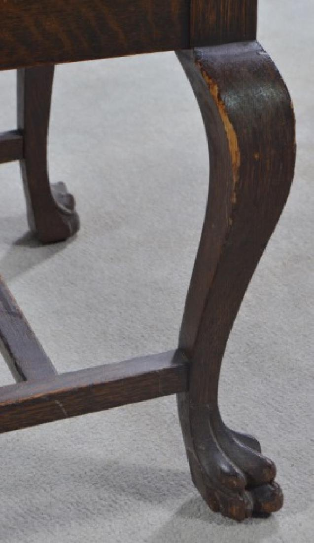 Set of Four Oak Dining Chairs - 10