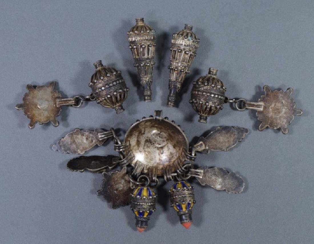 Group of North African Silver Pendants - 2