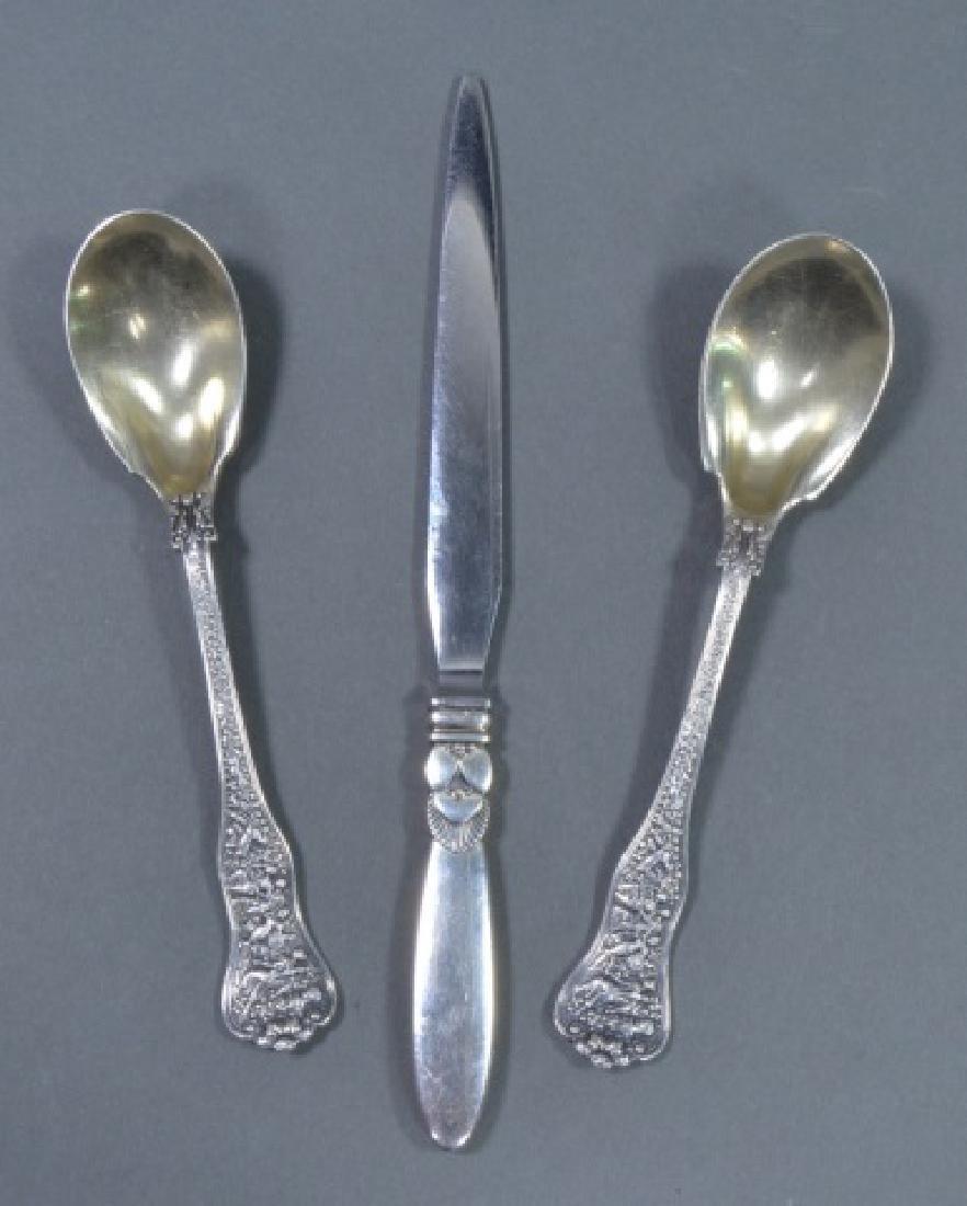 Pair of Tiffany & Co. Sterling Teaspoons