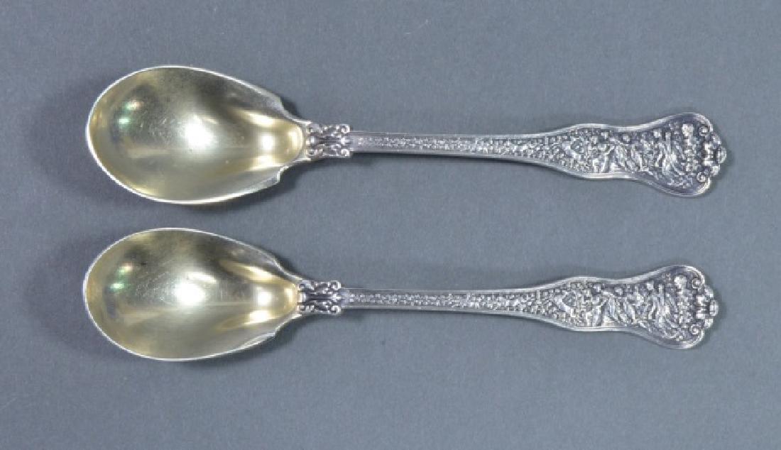 Pair of Tiffany & Co. Sterling Teaspoons - 2