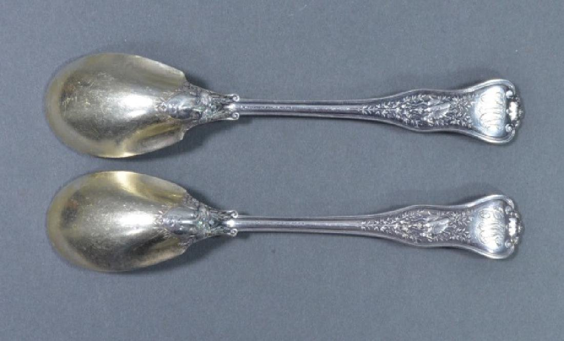 Pair of Tiffany & Co. Sterling Teaspoons - 3
