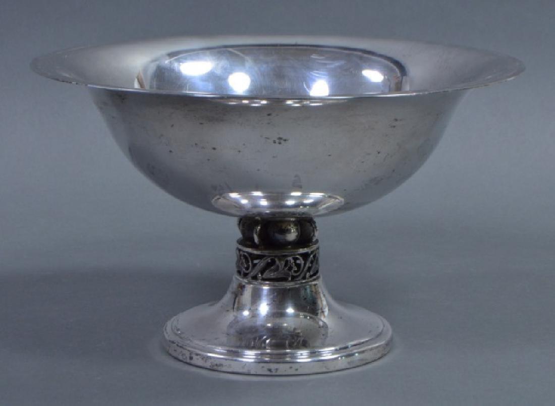 Sterling Silver Pedestal Bowl - 2