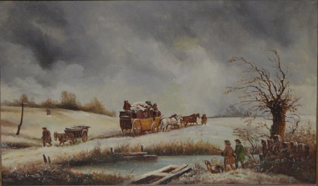 Edmund Aulburton Van Willis Oil on Canvas - 2