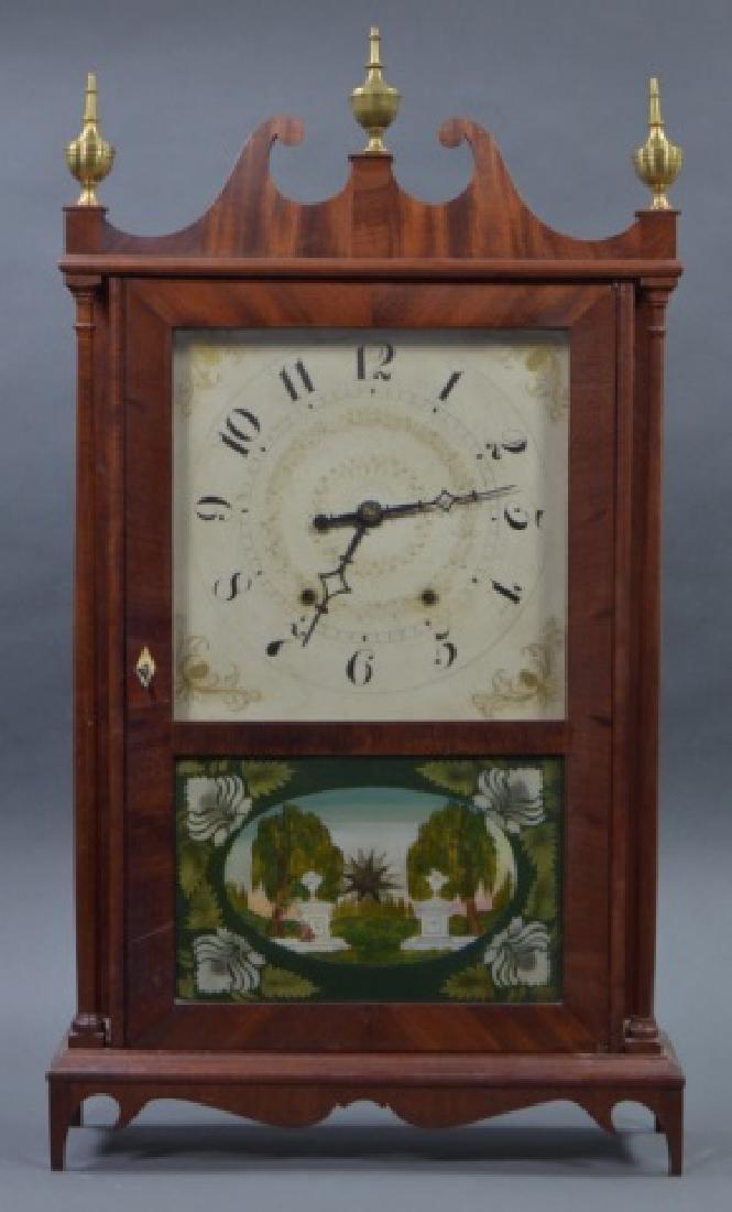 Pillar and Scroll Shelf Clock - 2