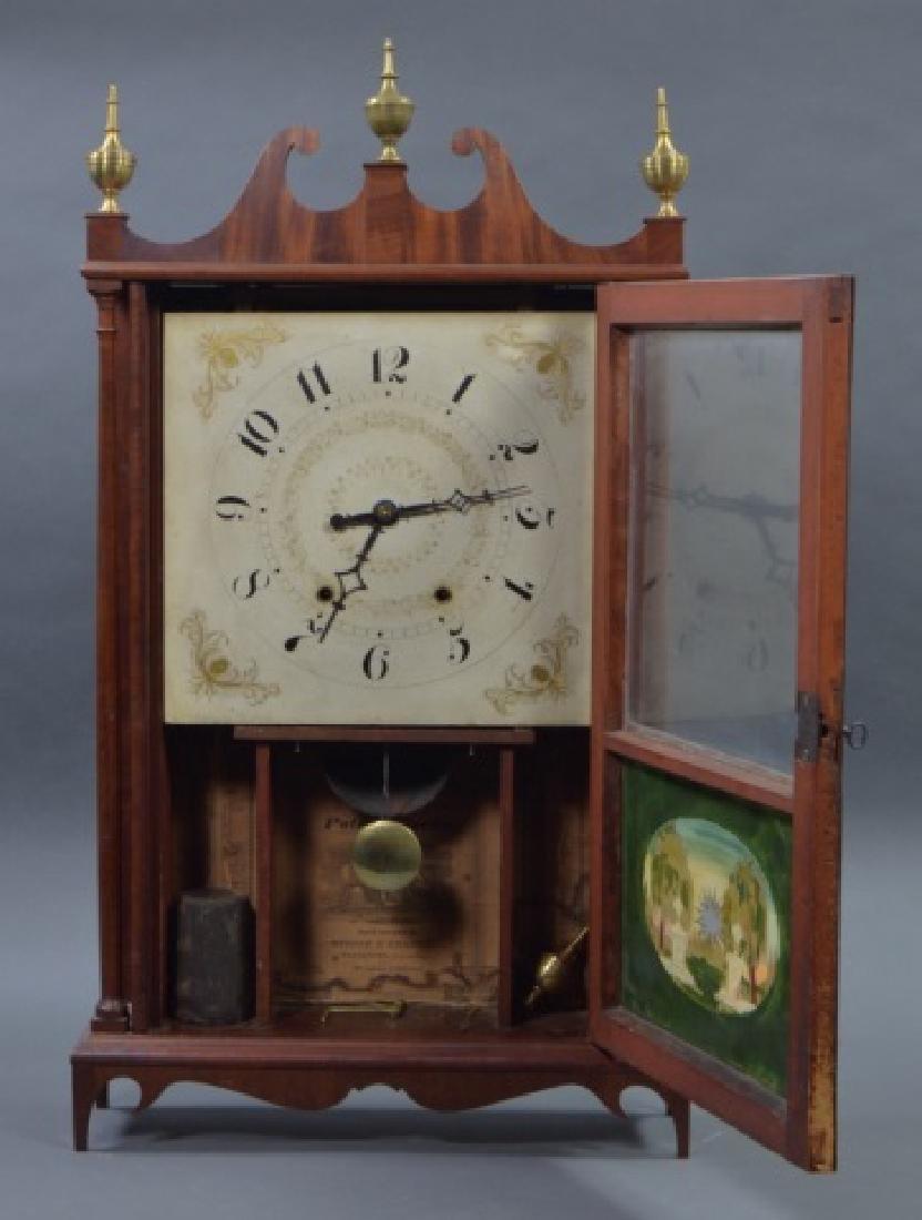Pillar and Scroll Shelf Clock - 3