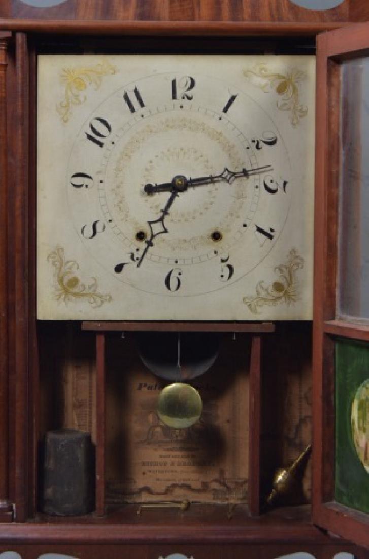 Pillar and Scroll Shelf Clock - 4