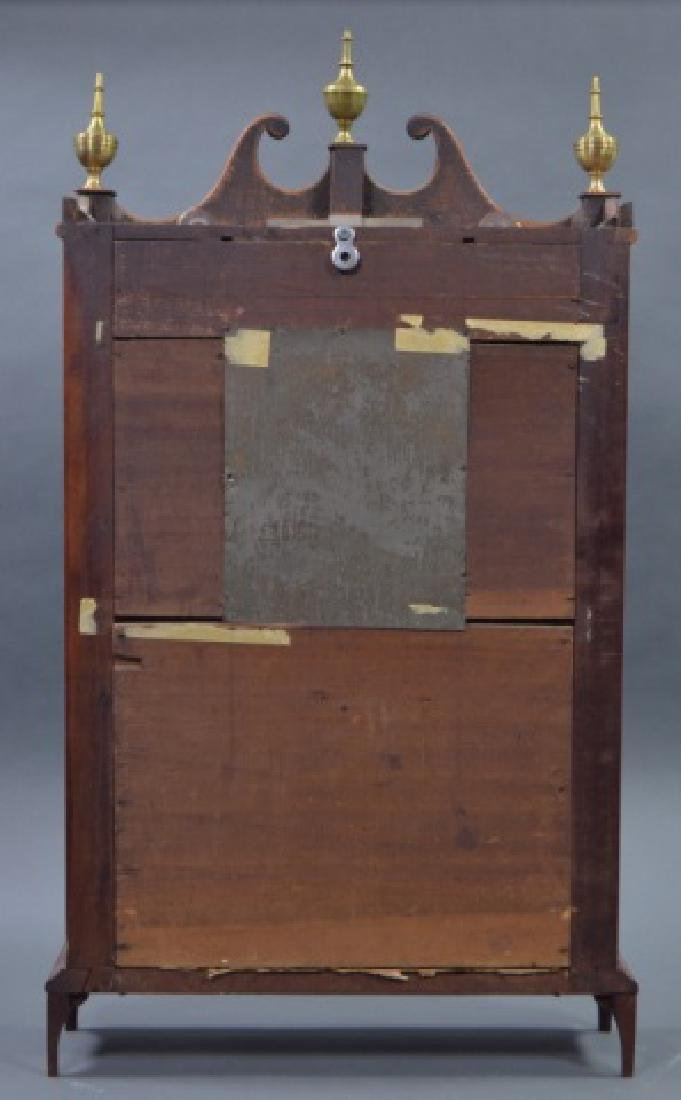 Pillar and Scroll Shelf Clock - 5