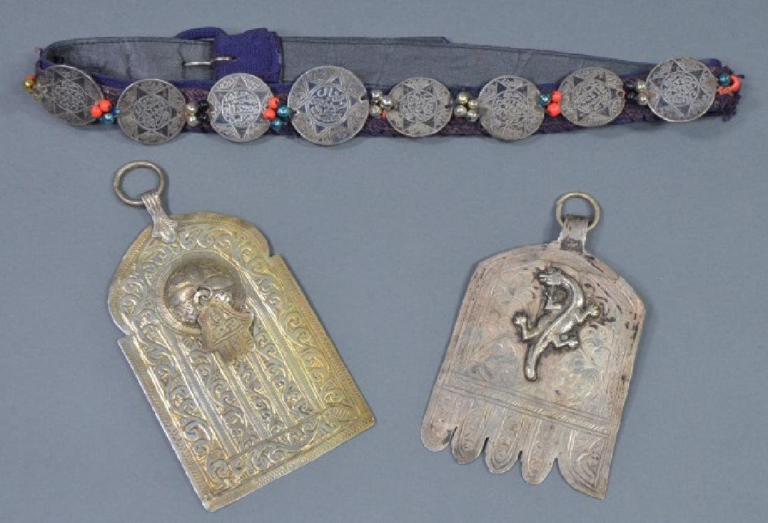 Two North African Silver Pendants