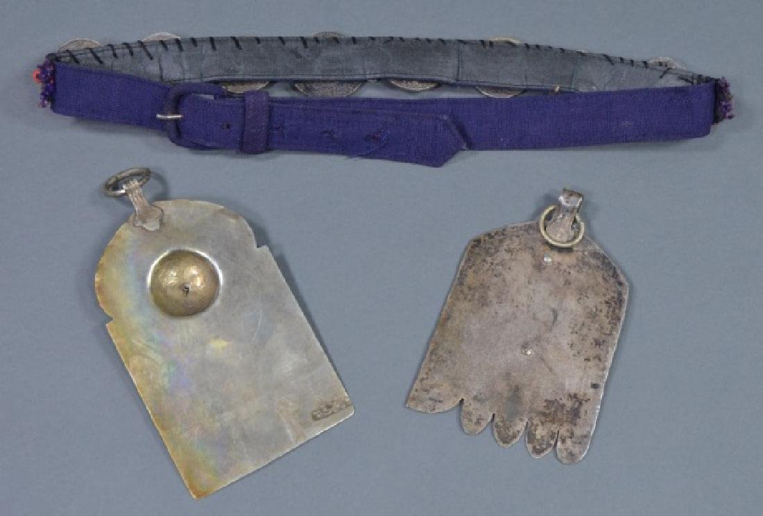 Two North African Silver Pendants - 2
