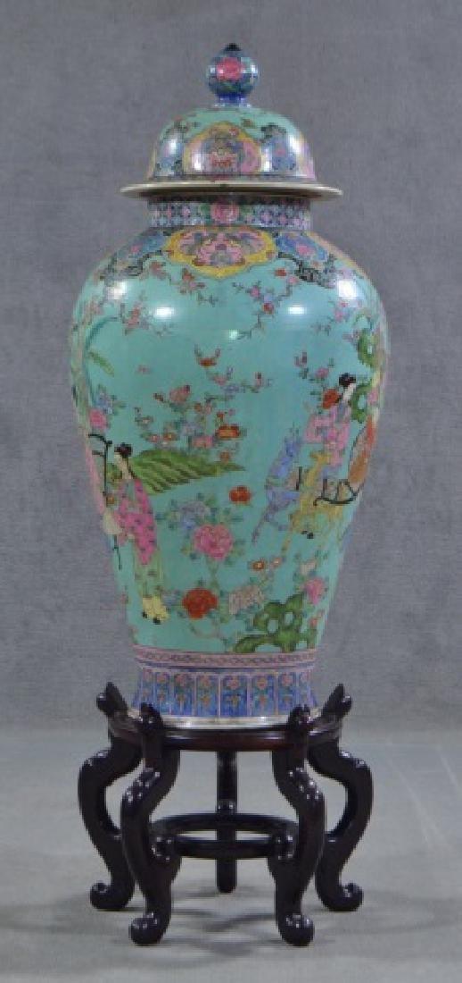 Chinese Porcelain Floor Vase - 2