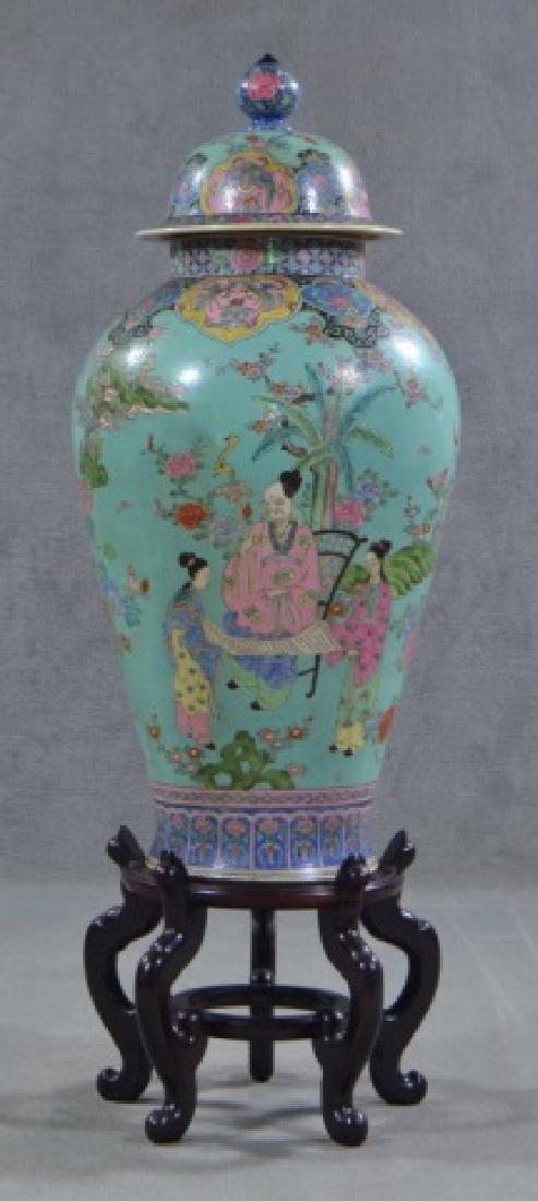 Chinese Porcelain Floor Vase - 3