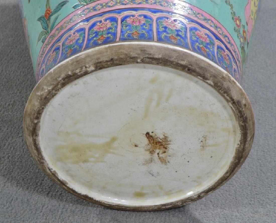 Chinese Porcelain Floor Vase - 5
