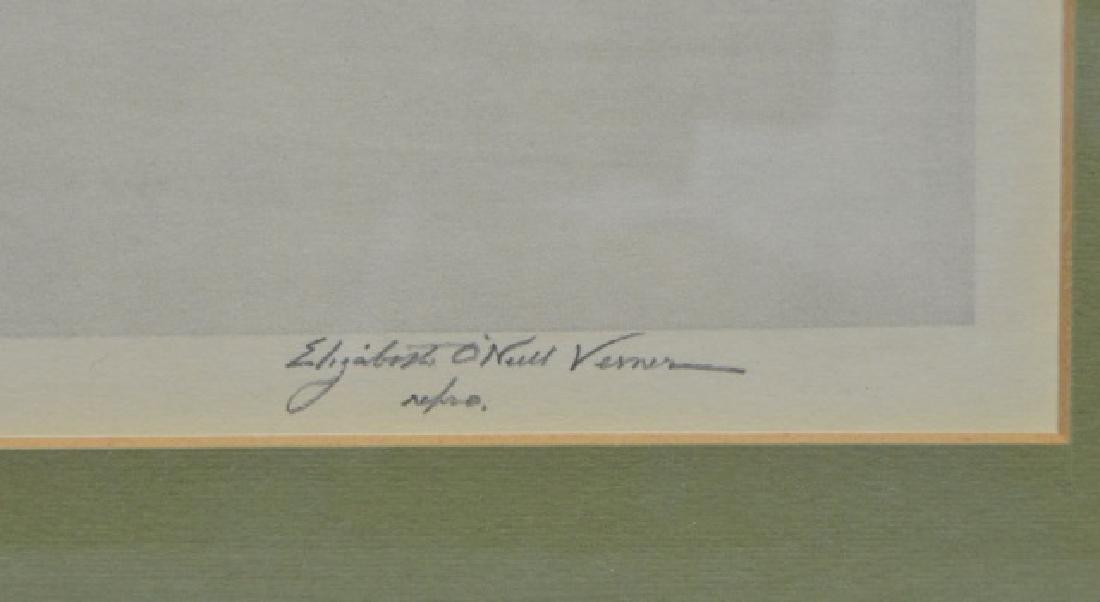 Elizabeth O'Neill Verner Lithograph of Charleston - 3