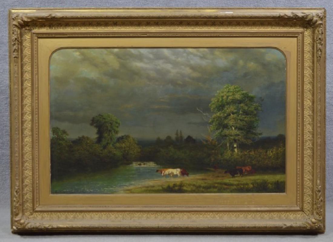 Alexander Wust 1837-1876 Oil on Canvas
