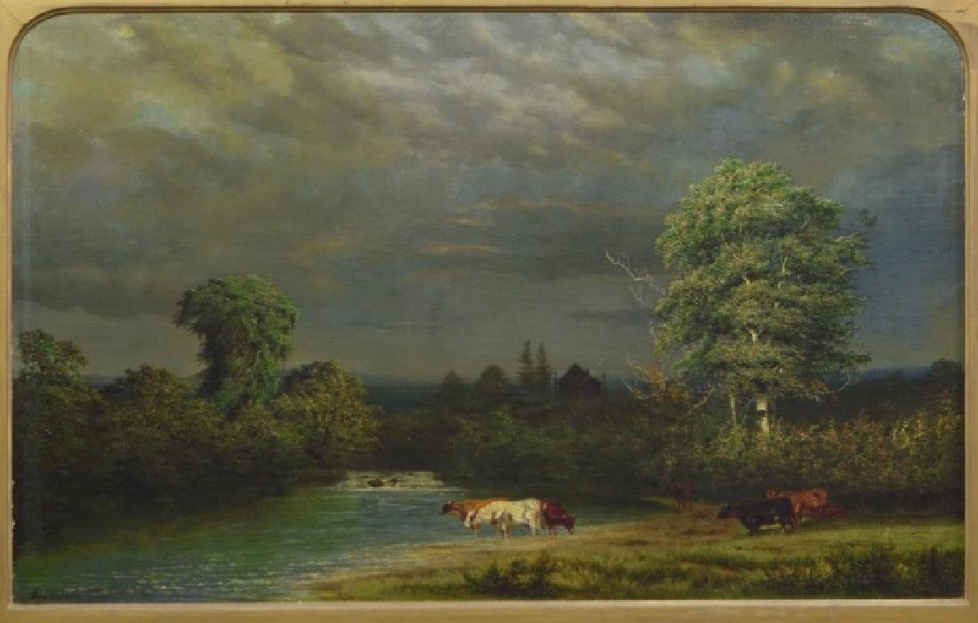 Alexander Wust 1837-1876 Oil on Canvas - 3