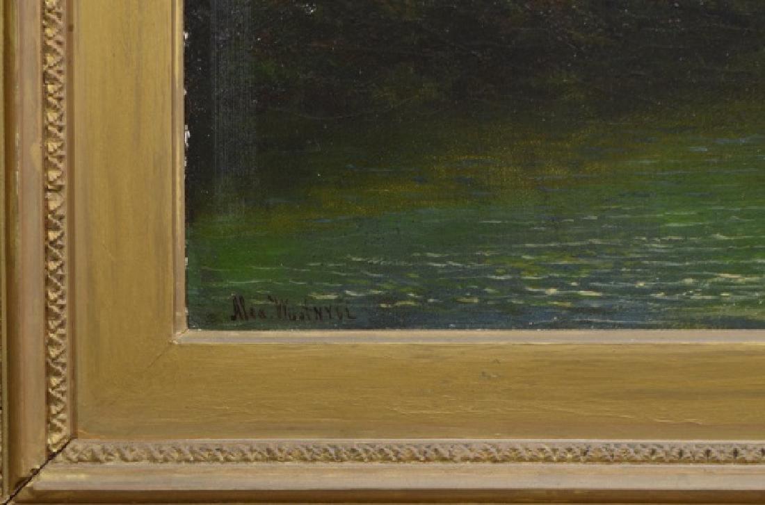 Alexander Wust 1837-1876 Oil on Canvas - 4