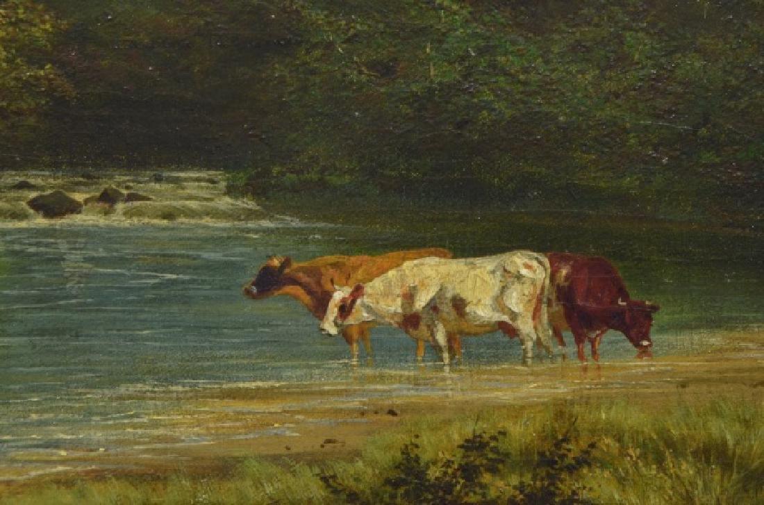 Alexander Wust 1837-1876 Oil on Canvas - 6