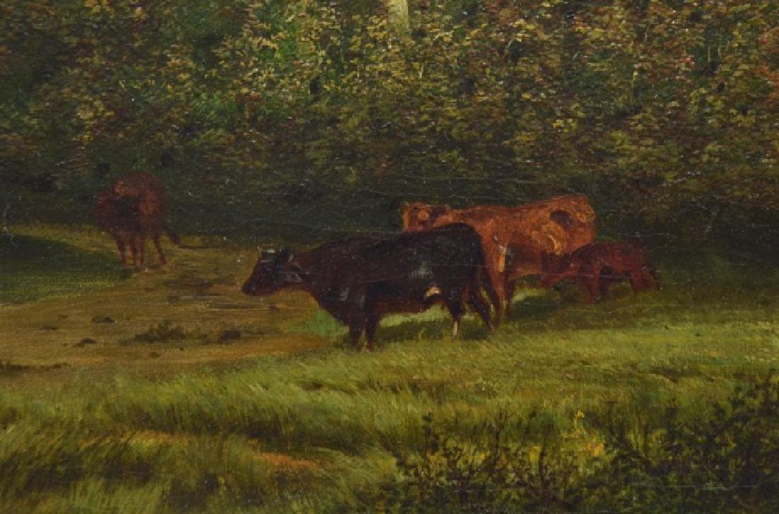 Alexander Wust 1837-1876 Oil on Canvas - 7