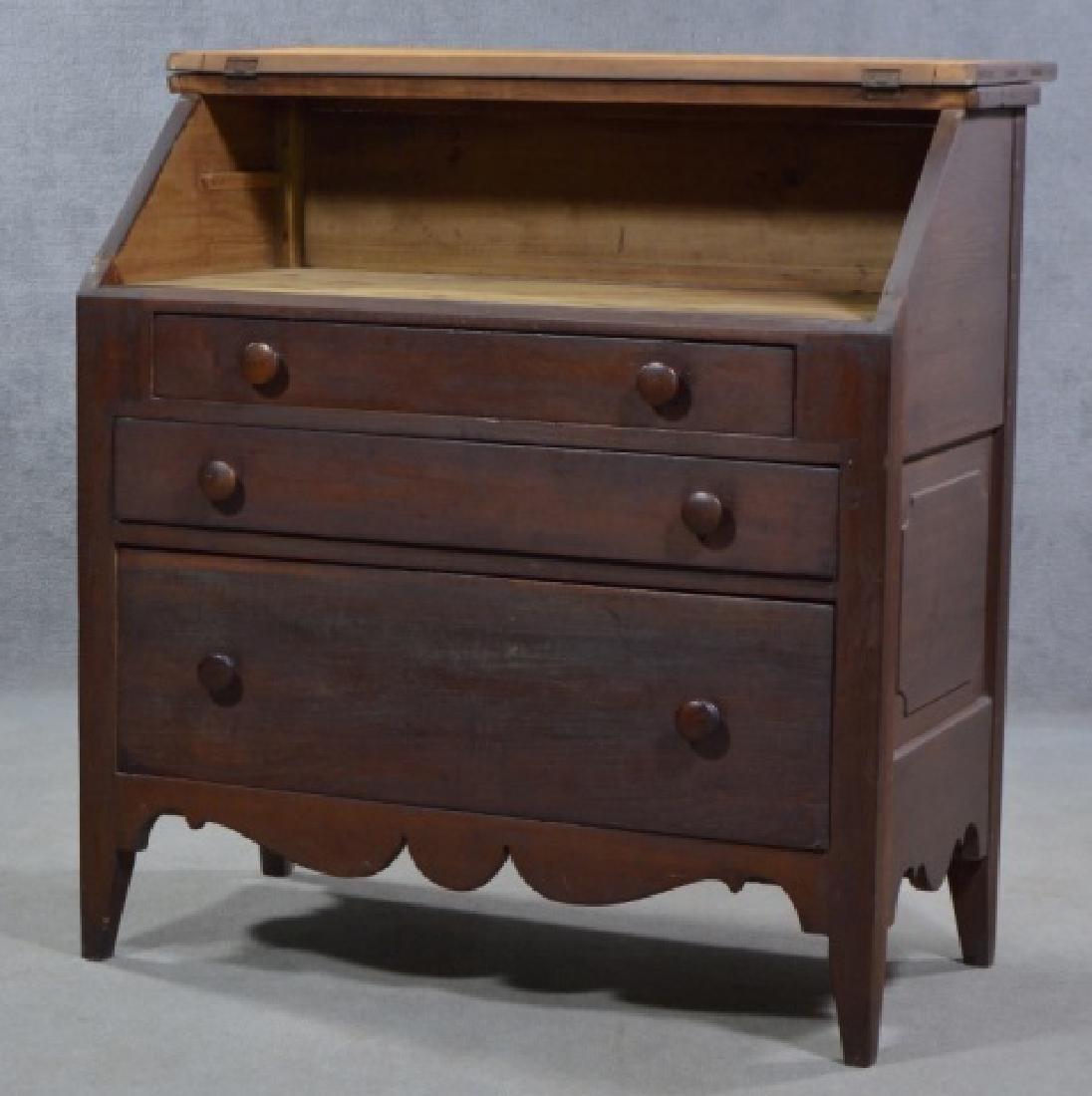 Primitive Slant Top Desk - 2