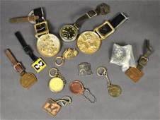 14 Miscellaneous Watch Fobs  Key Chains