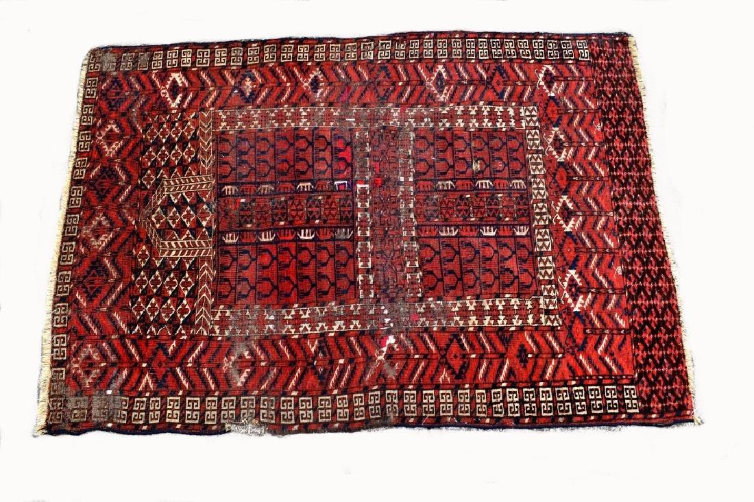 Turkoman wool on Wool Tribal Oriental