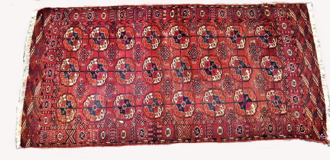 Turkoman Wool on Wool Rug
