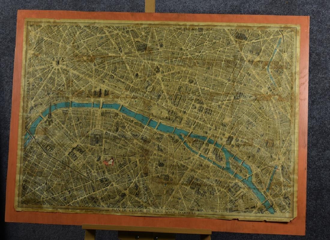 1959  Paris Map Blondel La Rougery Impressions 7