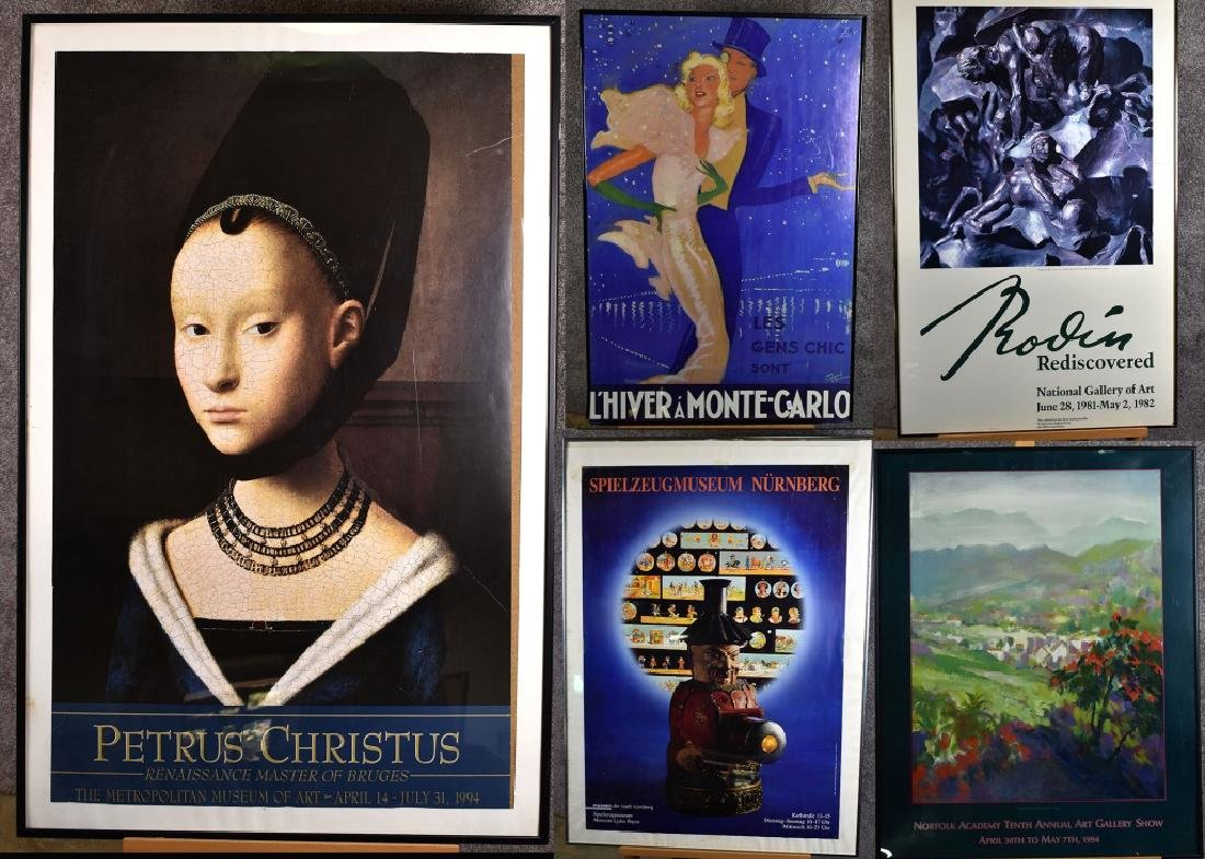 Lot of Framed Exhibition Prints
