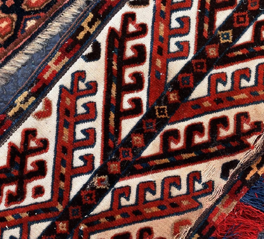 4 Turkoman Wool on Wool Pieces - 5