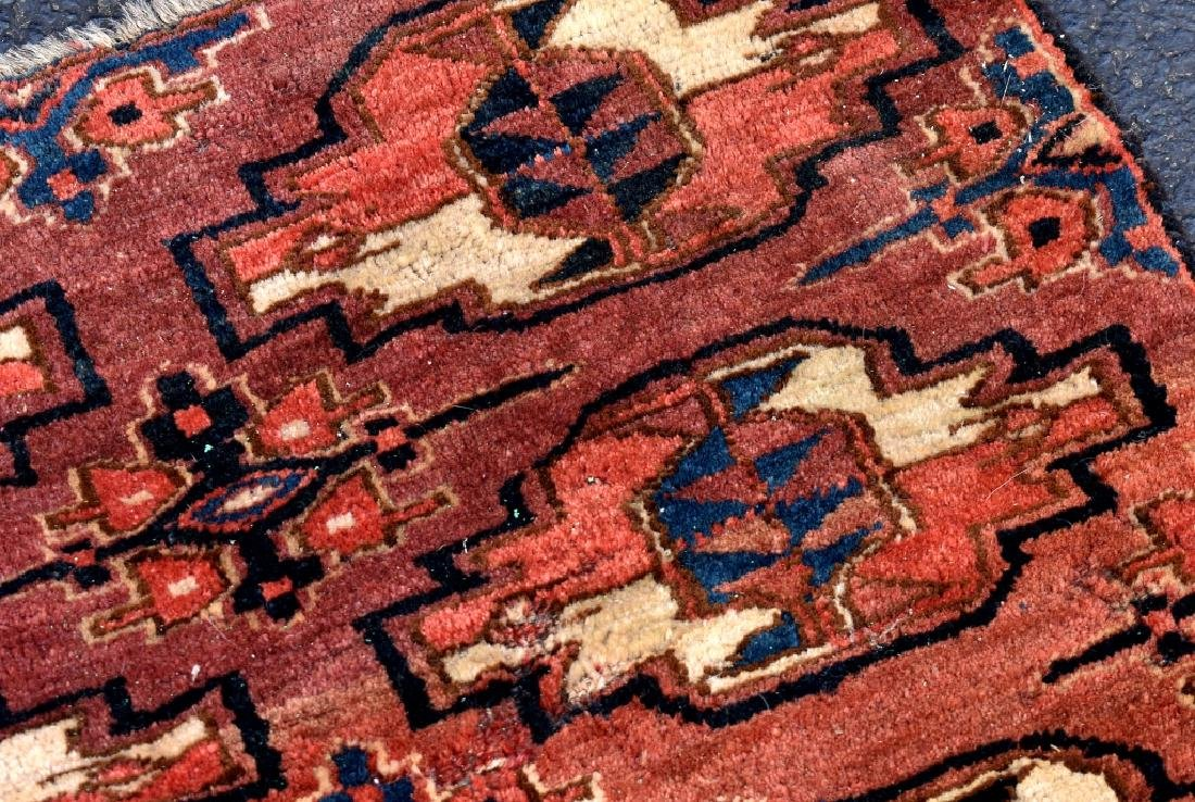 4 Turkoman Wool on Wool Pieces - 6
