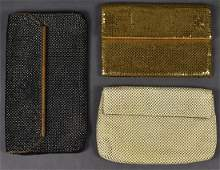 3 Whiting & Davis Mesh Purses Assorted Colors
