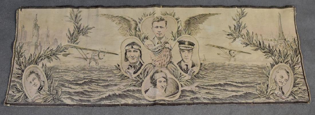 1920's Tapestry Lindburg Chamberlain Byrd Elder