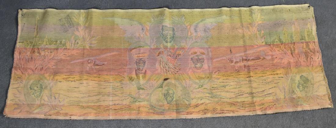 1920's Tapestry Lindburg Chamberlain Byrd Elder - 7
