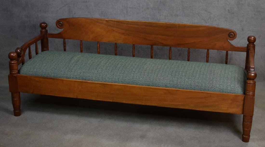Pair of Walnut Benchmade Day Beds - 7