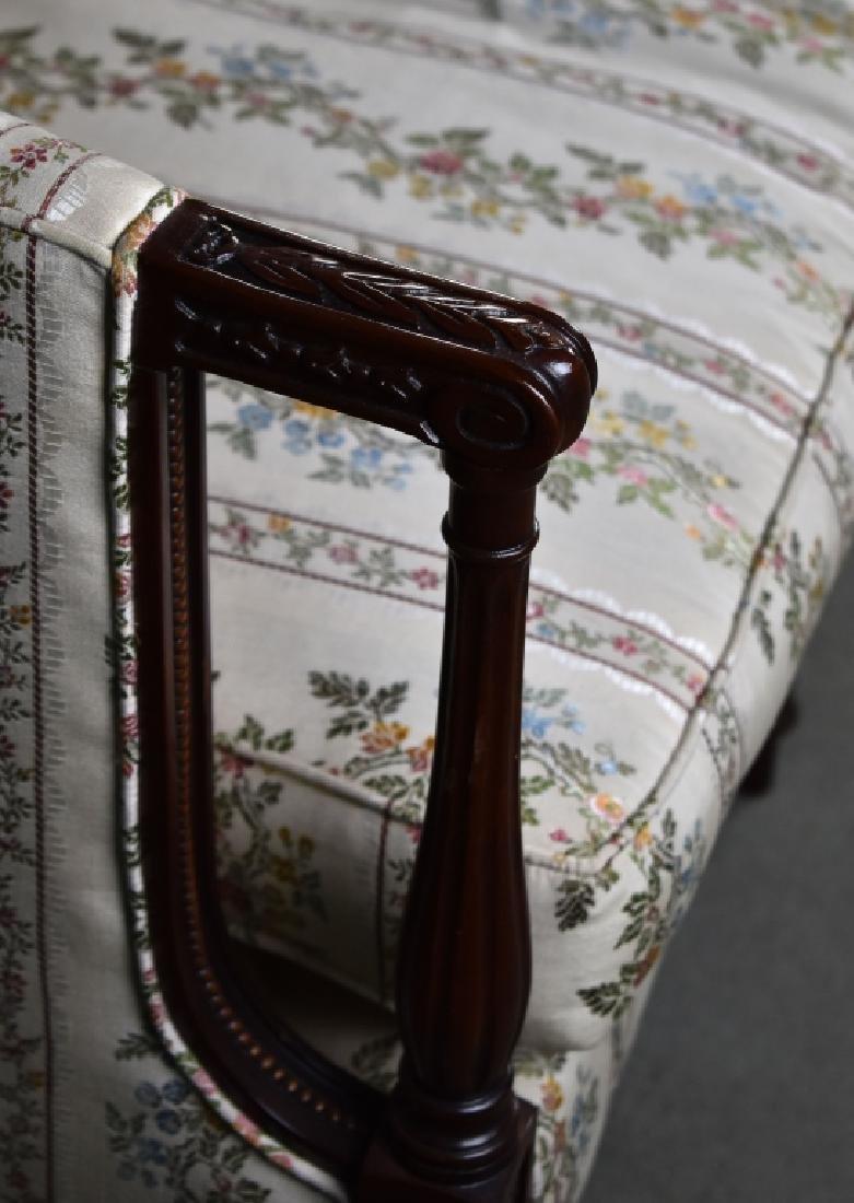 Mahogany Sheraton Style Sofa - 2
