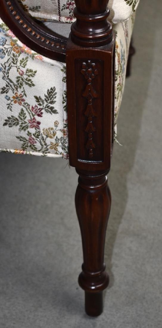 Mahogany Sheraton Style Sofa - 4
