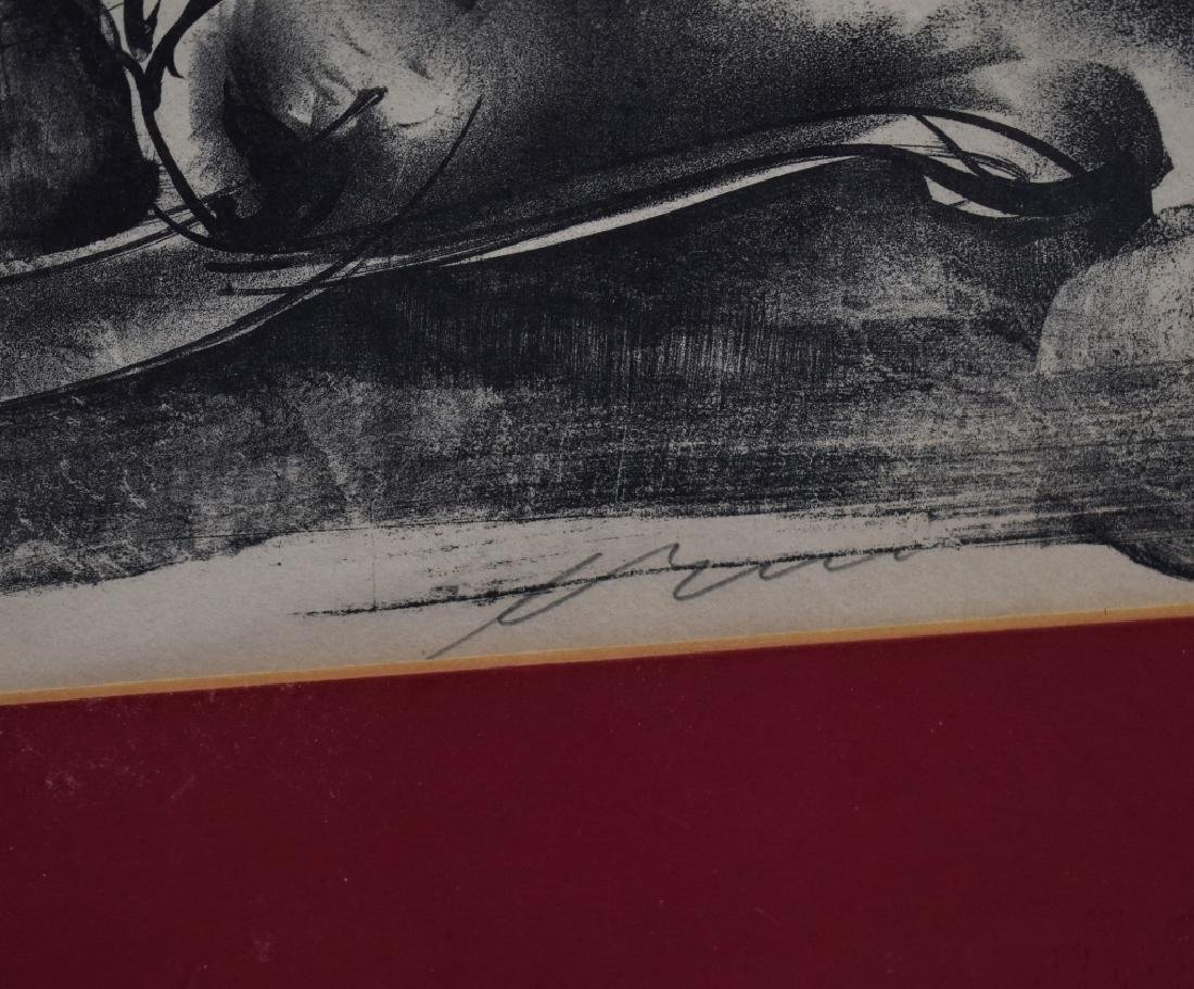 Signed Print of Europa on a Bull - 2