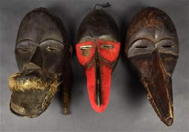 Three Bird Dan Masks