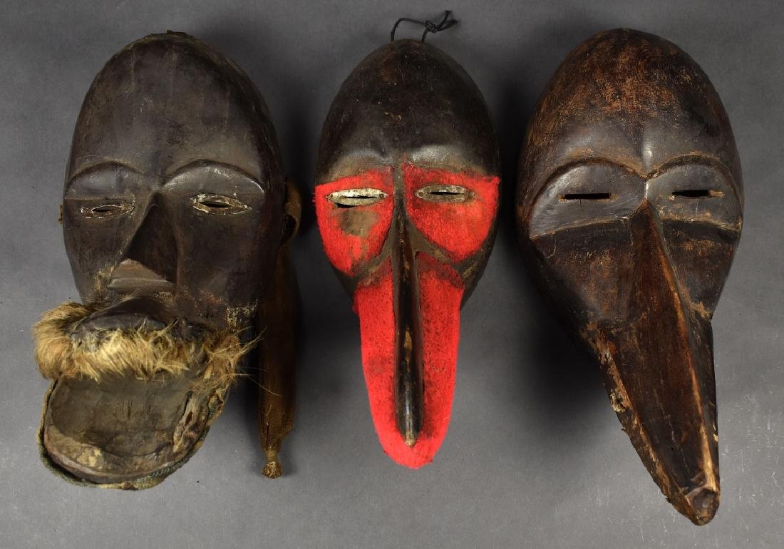 Three Bird Dan Masks