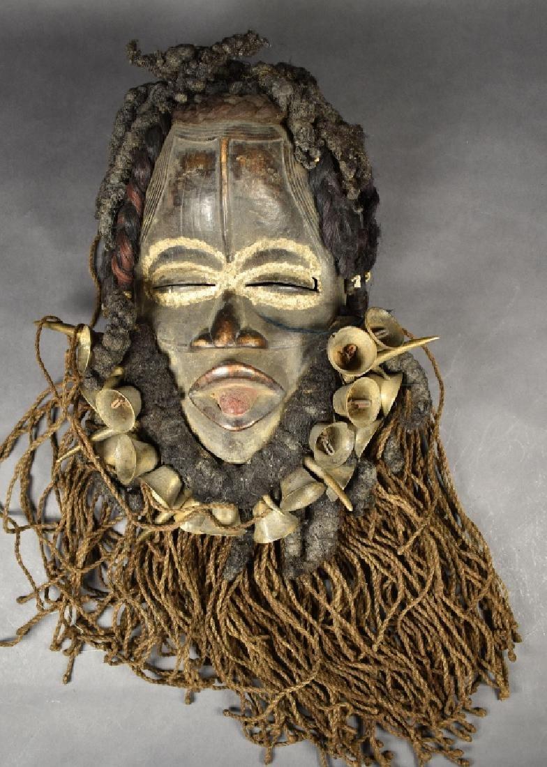 Dan GoGe Mask with Talismans