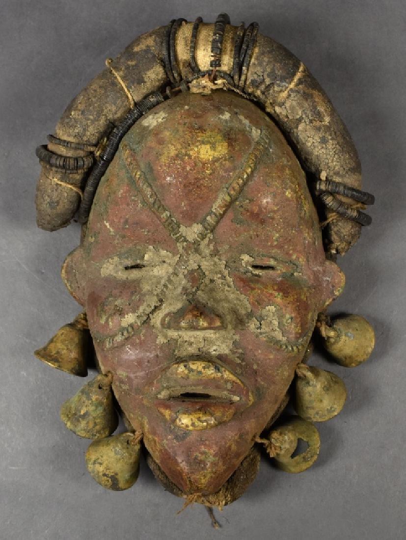 Bronze Dan Mask with Talismans