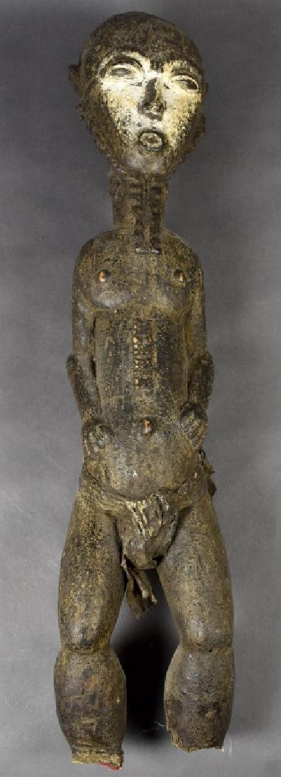 West African Baule Male Figure