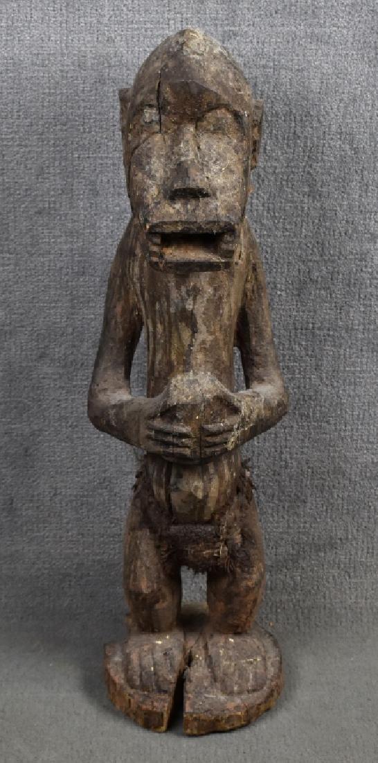West African Baule Monkey Figure