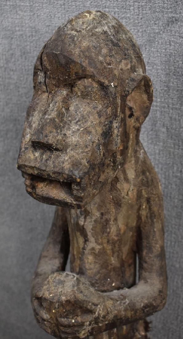West African Baule Monkey Figure - 2