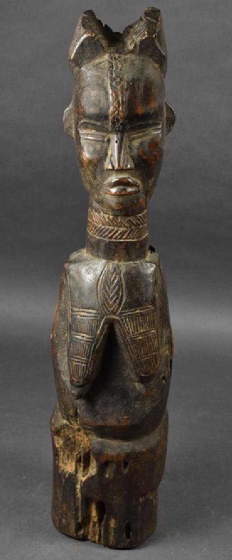 West African Baule Female Figure