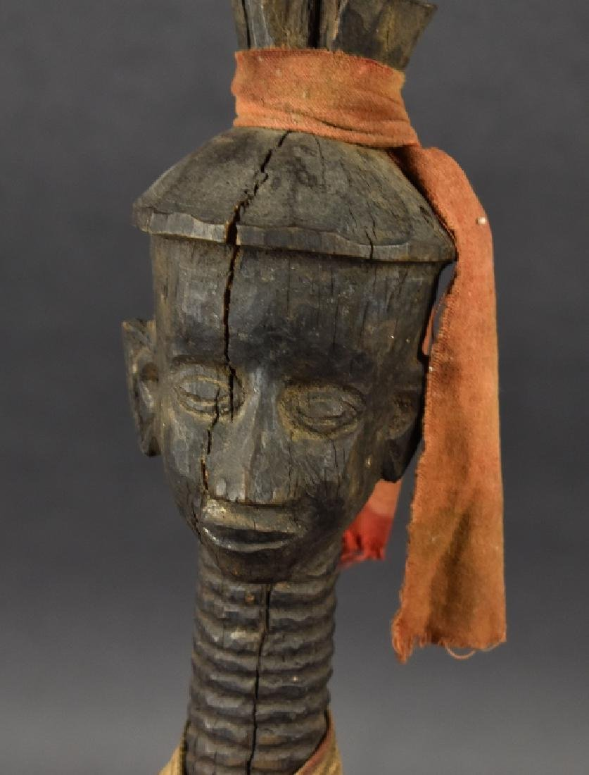 Unknown African Figure with Chair - 4
