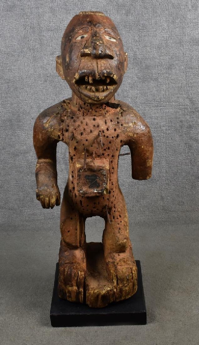 Kongo Nail Fetish Figure