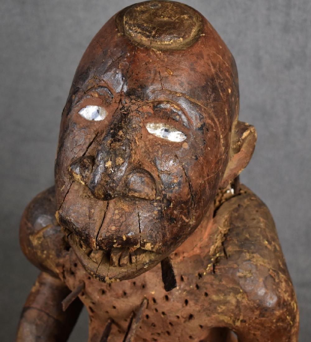 Kongo Nail Fetish Figure - 2